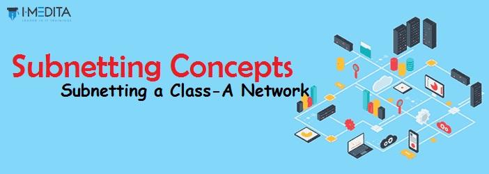 Subnetting a Class- A IP Address - I-Medita