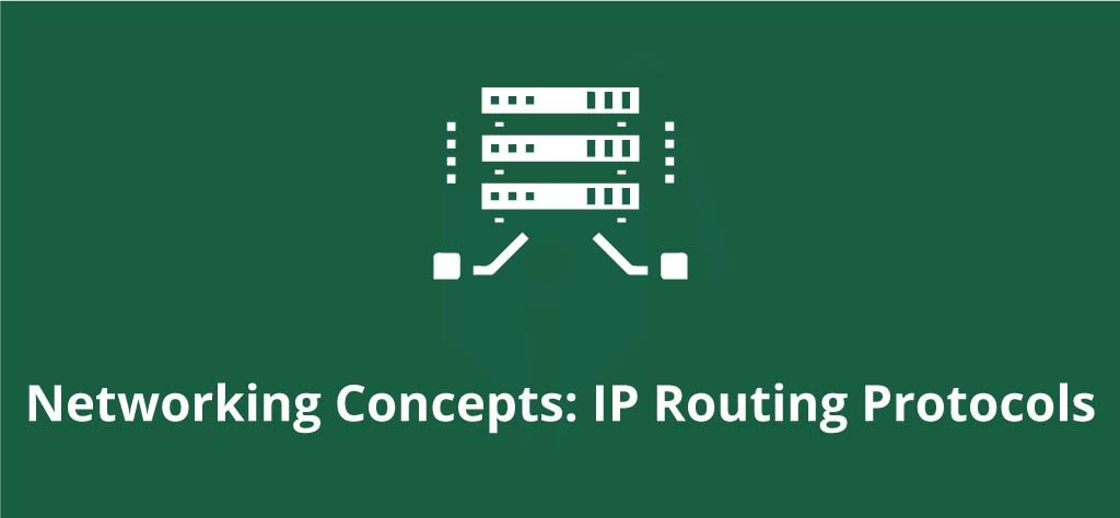 Networking Concepts: IP Routing Protocols