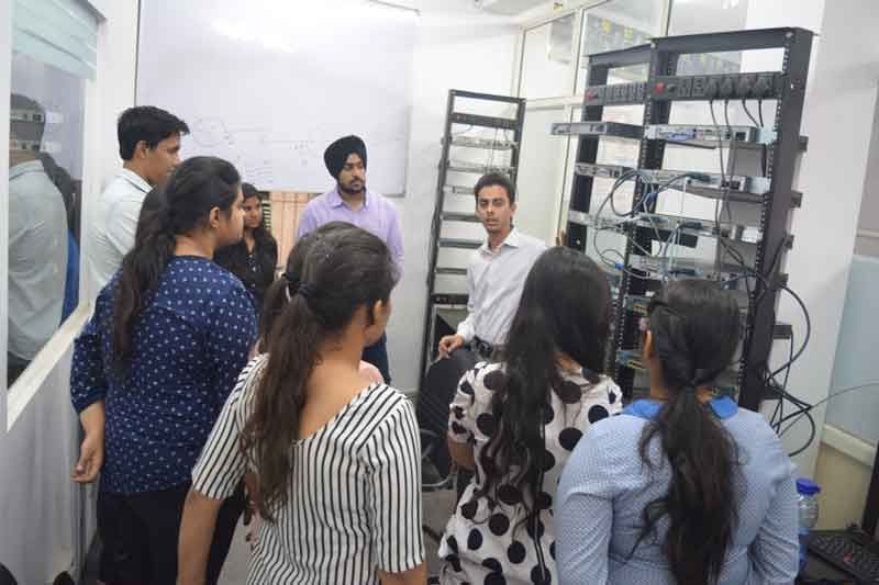 Industrial Visit - Amity University, Gurgaon