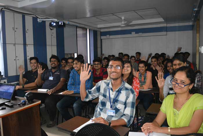 Industrial Visit at Pune's Biggest Cisco Training Labs by MIT Poly Pune