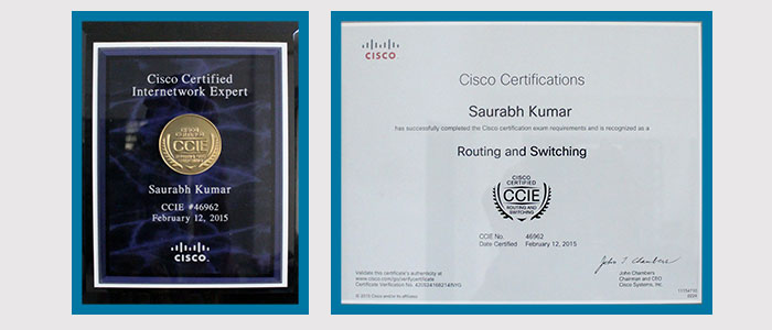Popular Cisco CCNA, CCNP and CCIE Trainer's in India