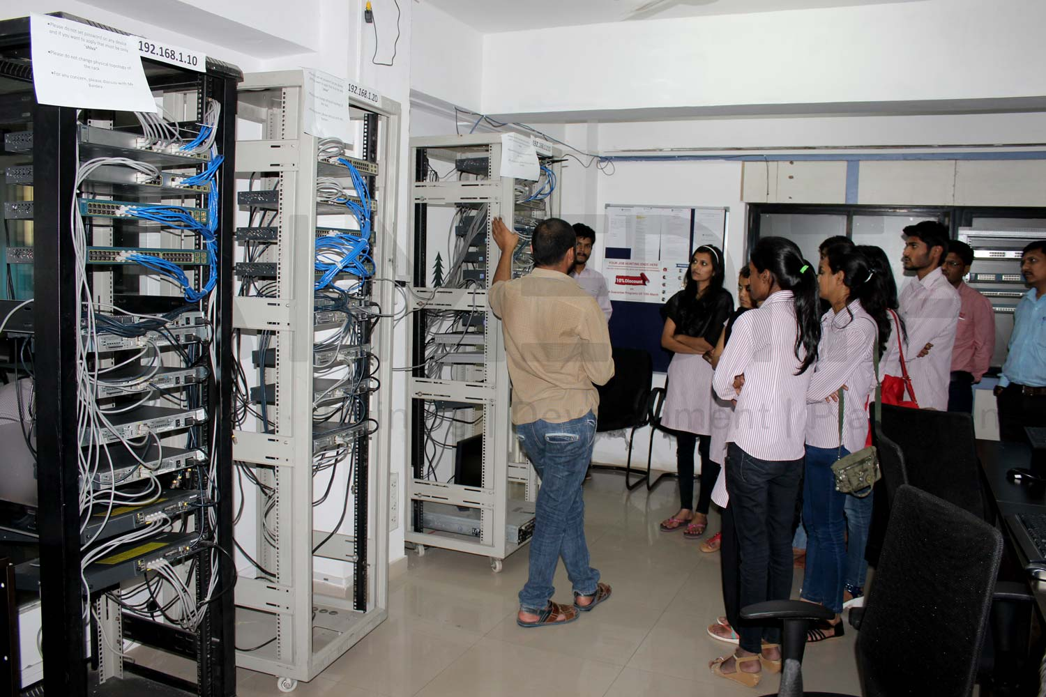 Industrial Visit at I-Medita Labs