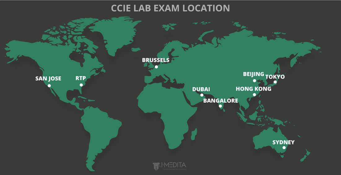 9 CCIE Lab Exam Locations and Centers Cisco San Jose Map on