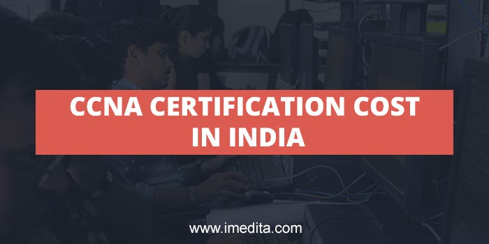 CCNA Certification Cost in India