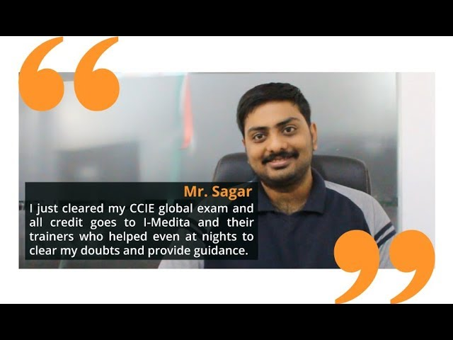 Sagar Parikh CCIE R&S #57008 cleared most reputable IT Certification