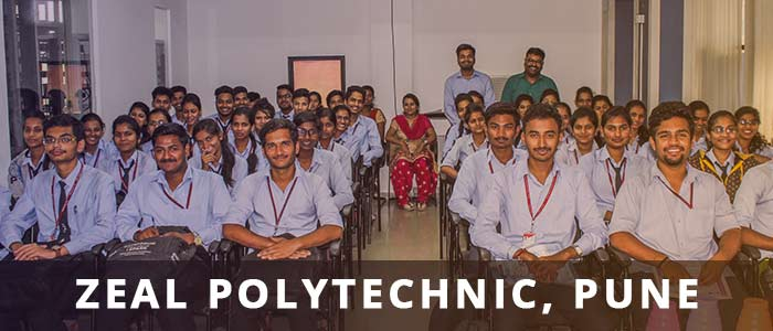 Industrial Visit by Zeal Polytechnic, Pune at I-Medita